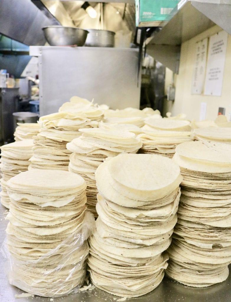 Matt's in Austin makes 8,000 corn tortillas a day...