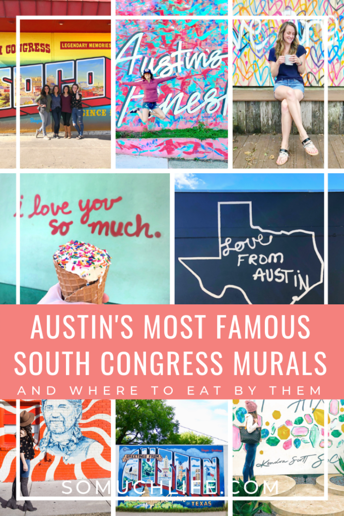 famous murals on South Congress in Austin Texas