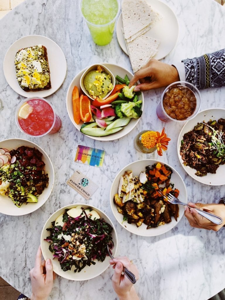 Where to eat the best lunch in Austin Texas: 55 options for every category / flower child