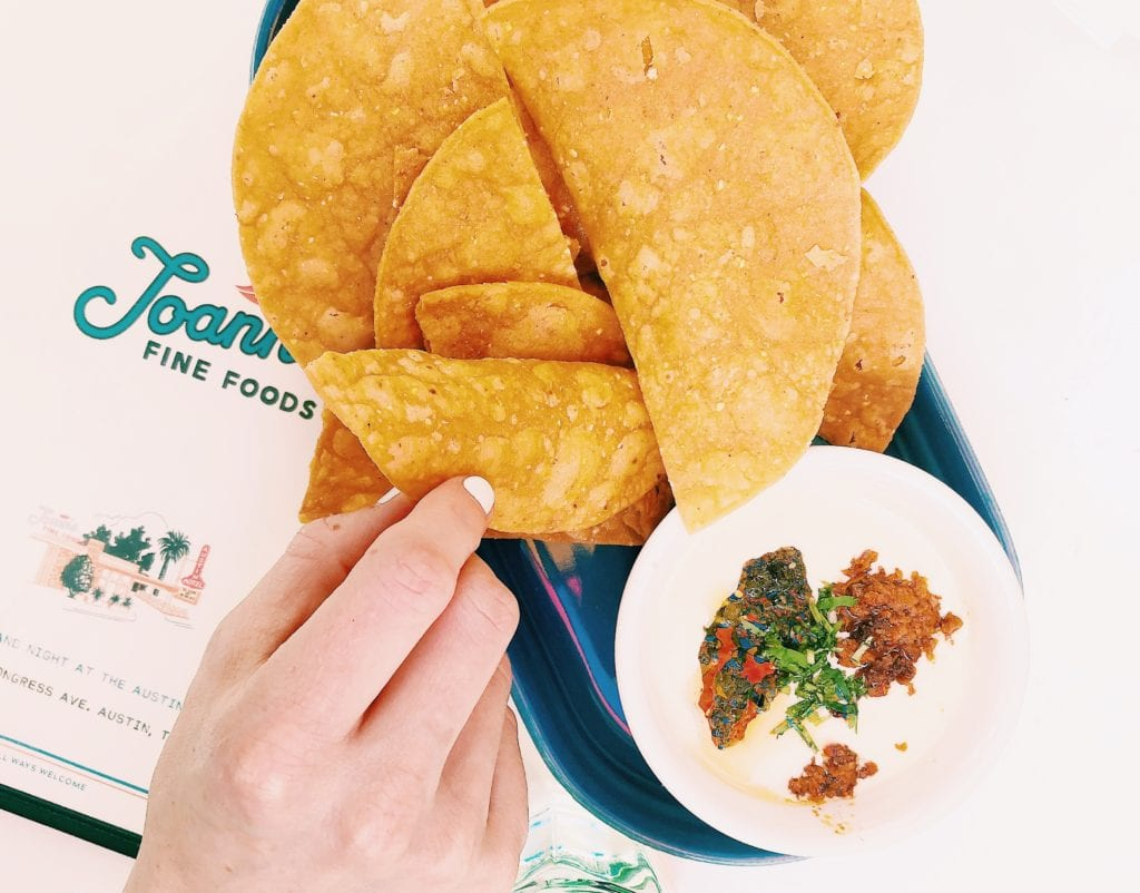 Vegetarian Queso in Austin on South Congress