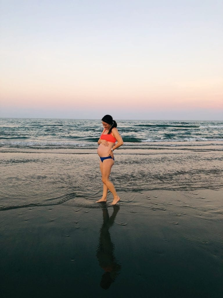 All about our babymoon on South Padre Island