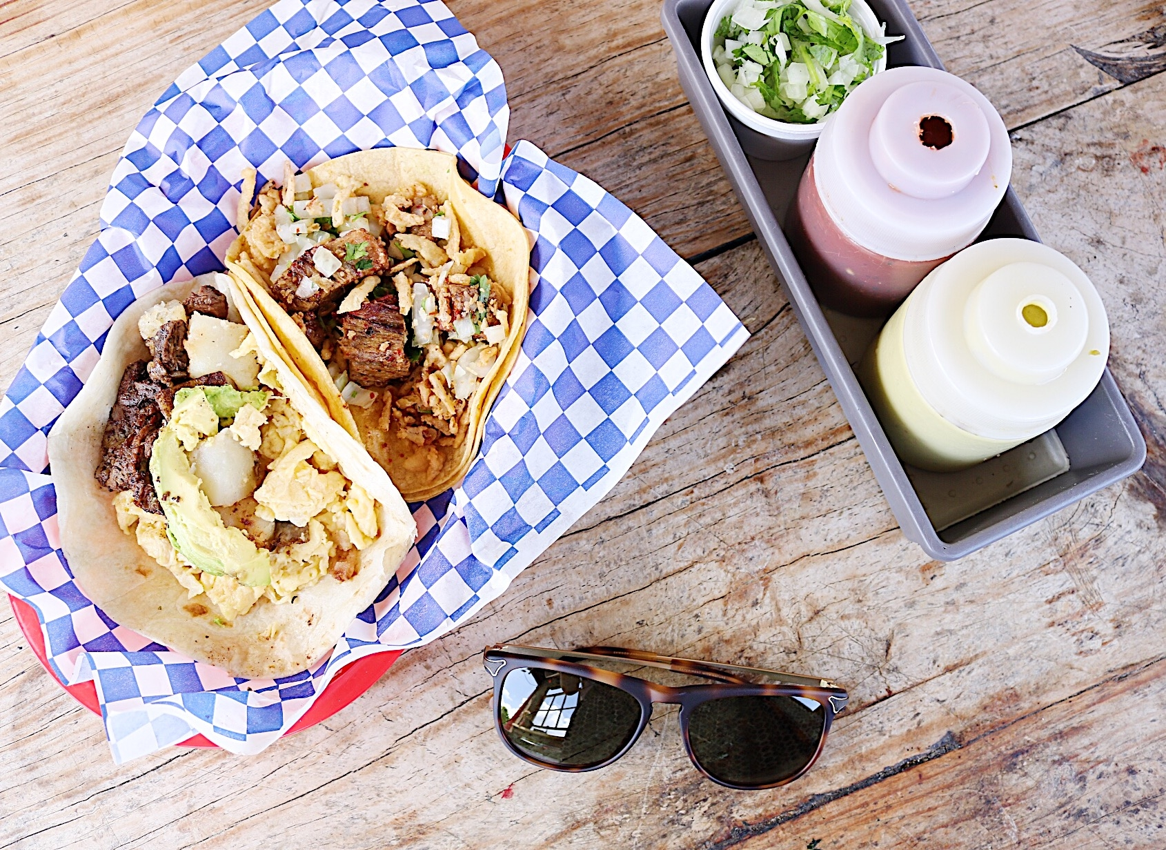 The best tacos in Austin Texas: Tyson's Tacos