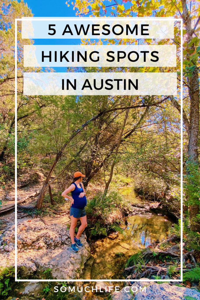 Austin has some incredible hiking trails! Here are 5 of the best ones.