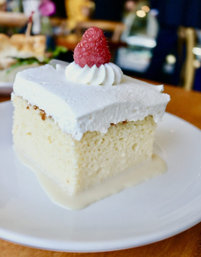 20 best desserts in ATX! Tres Leches cake at Word of Mouth Bakery