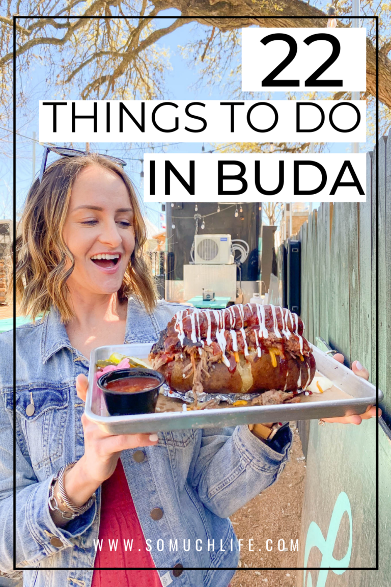 22 Things To Do In Buda, Tx!